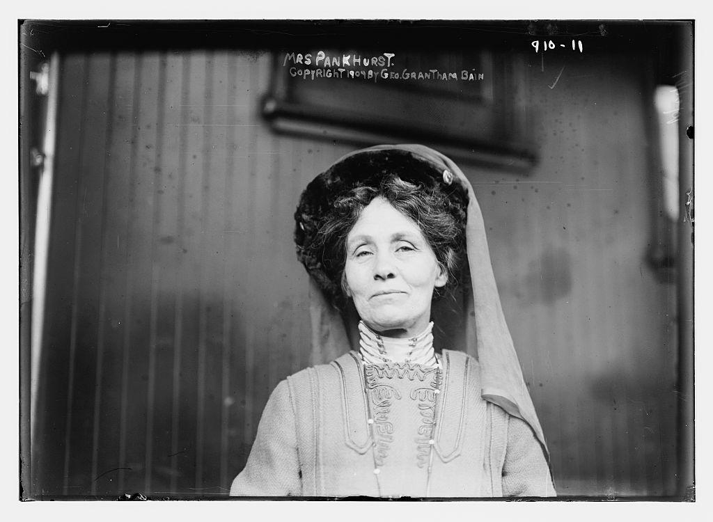 Emmeline Pankhurst, 1909