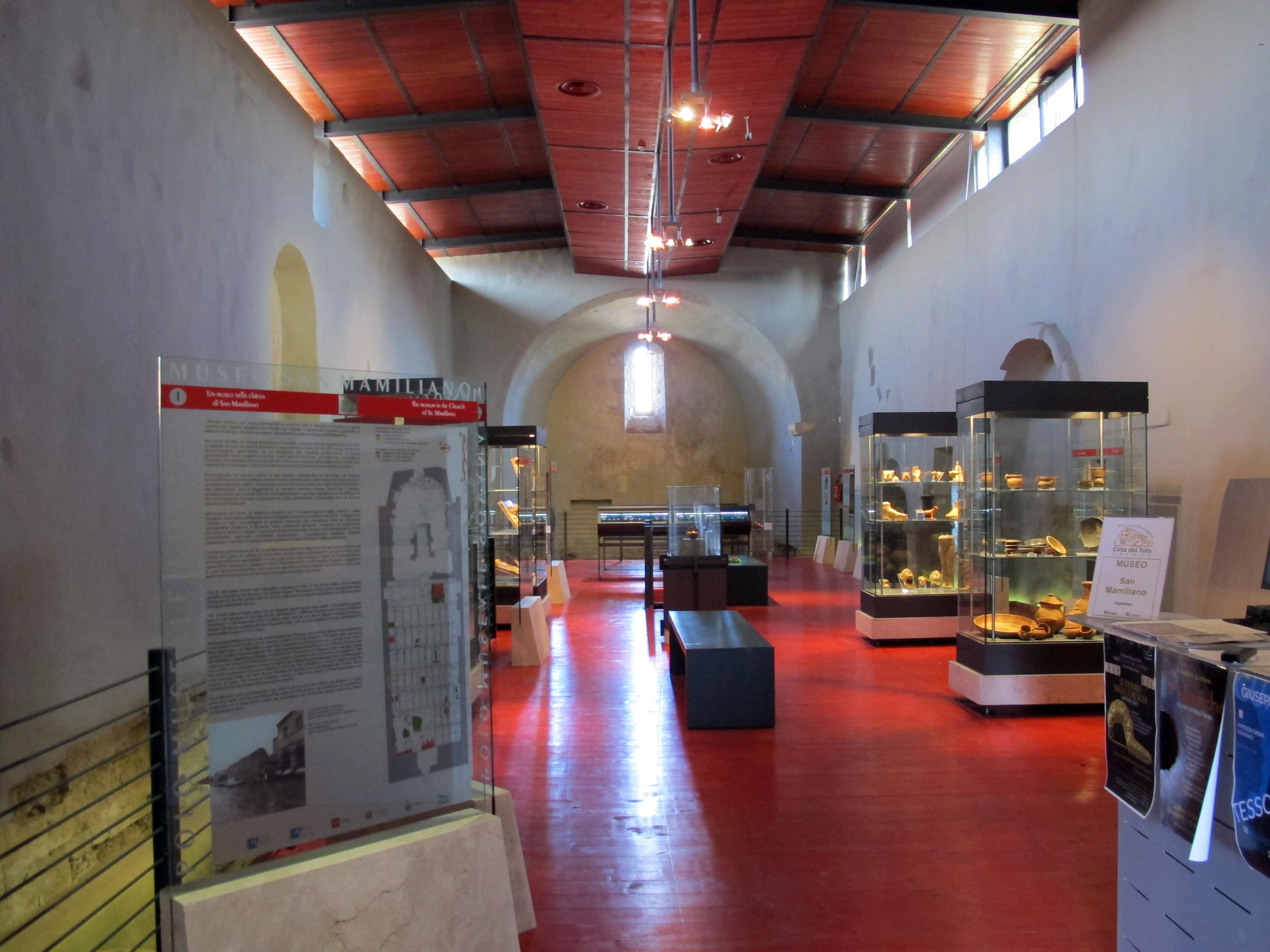 Museo di san mamiliano, interno, 01.JPG