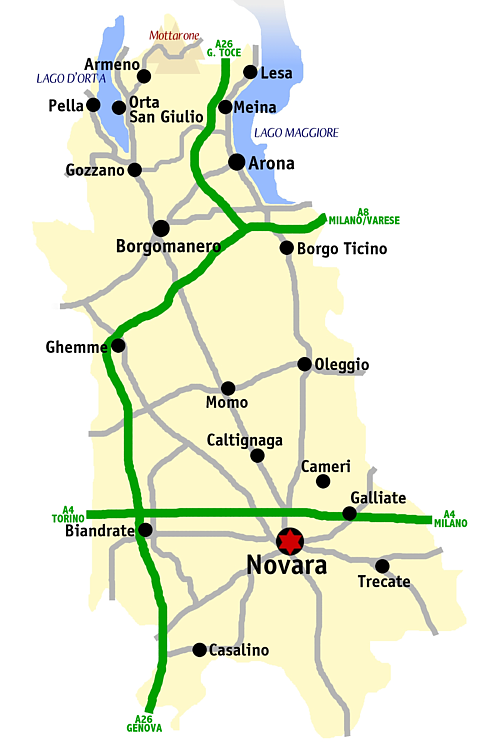 Provincia di Novara - Wikiwand