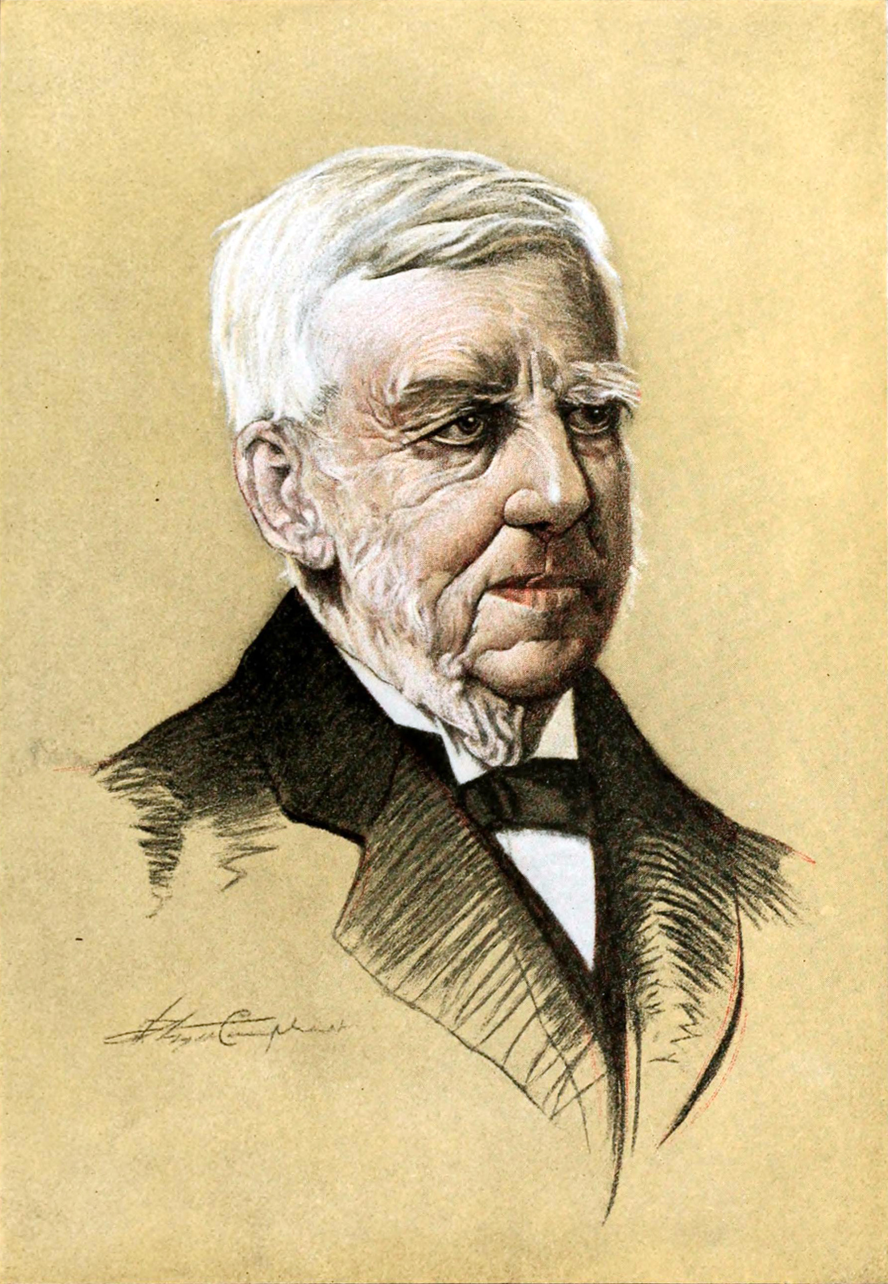 Image result for oliver wendell holmes caricature