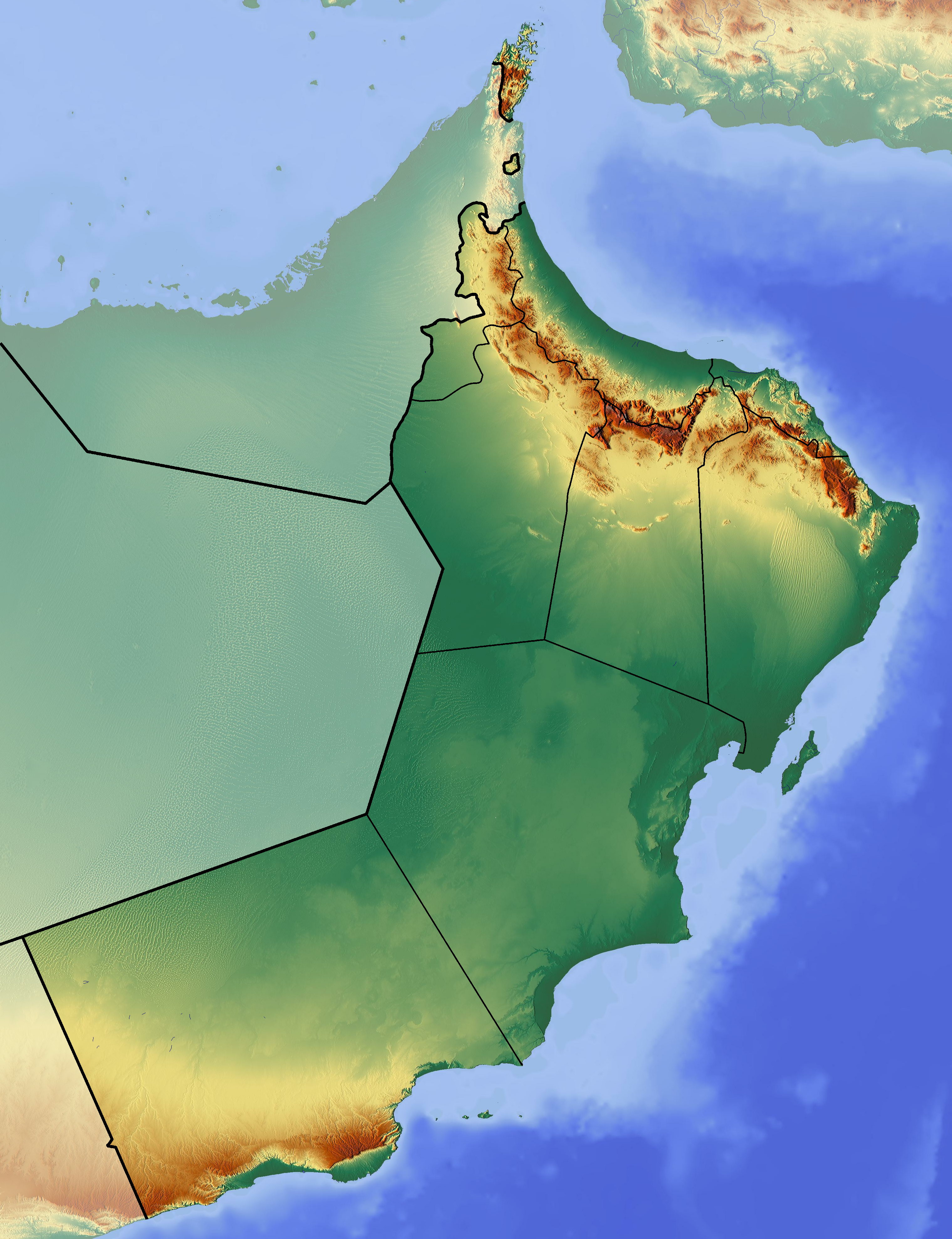 FileOman location map Topographicpng Wikimedia Commons