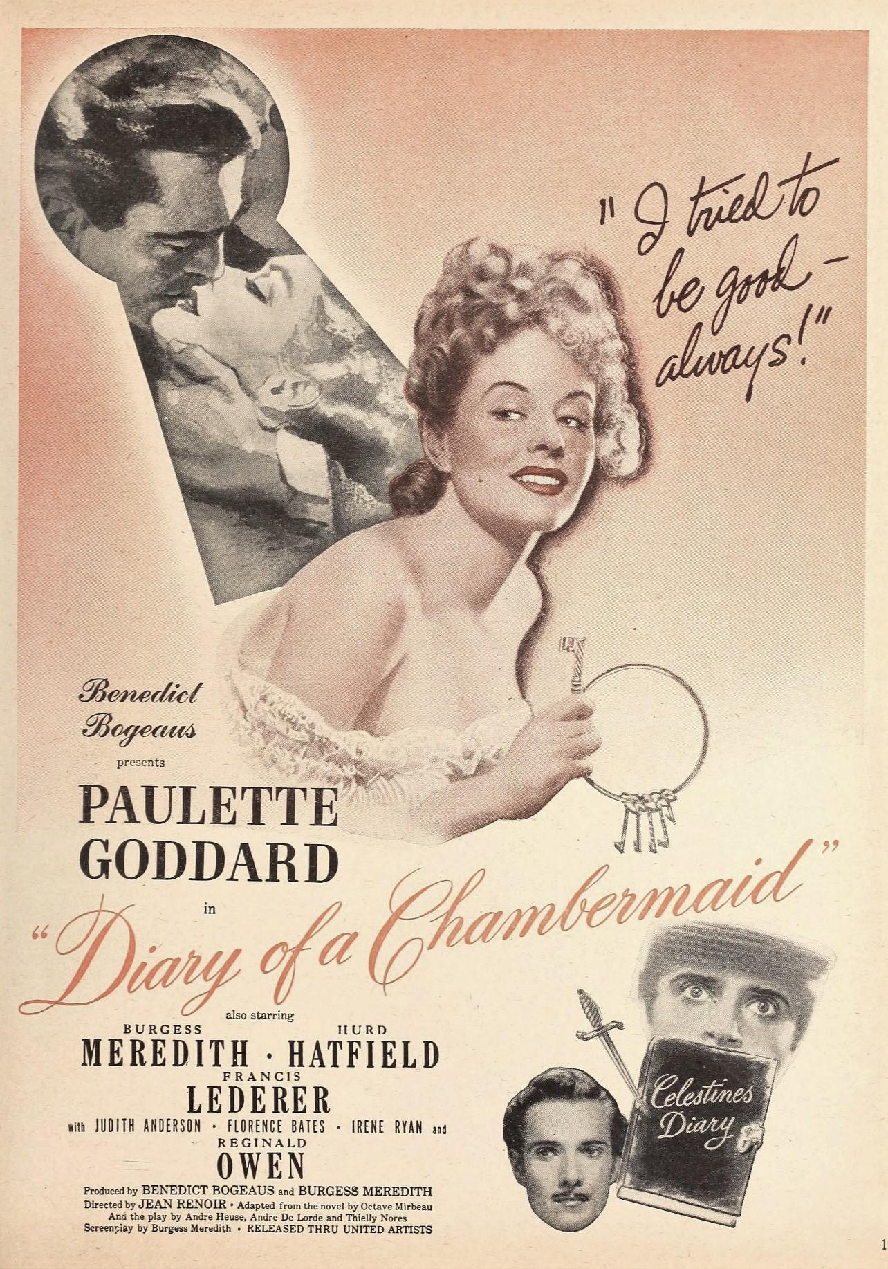 File:Paulette Goddard in 'The Diary of a Chambermaid', 1946.jpg ...