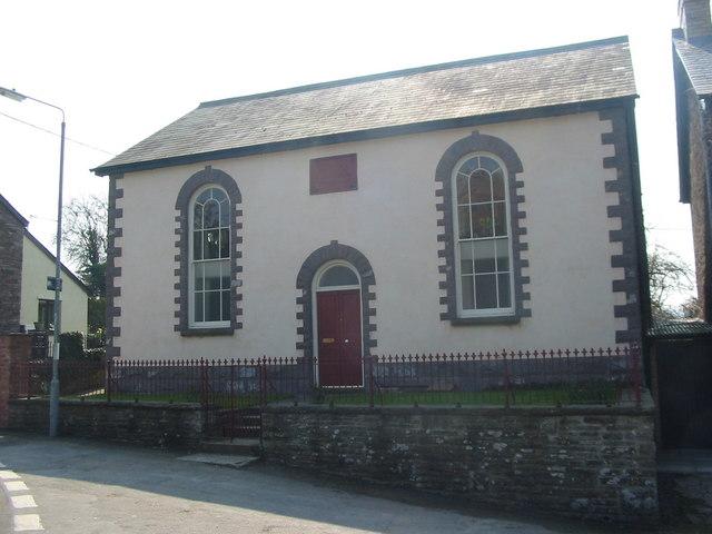 Penuel Baptist Chapel, Llangors - geograph.org.uk - 404963