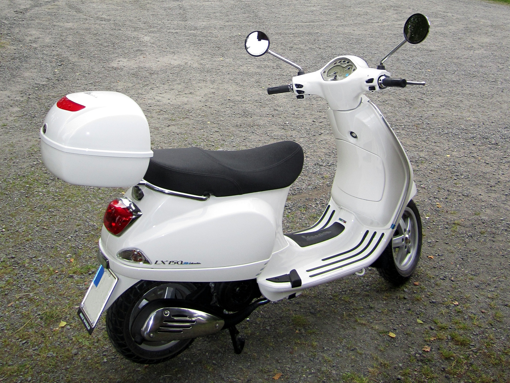 Vespa Lx 150 Modifications
