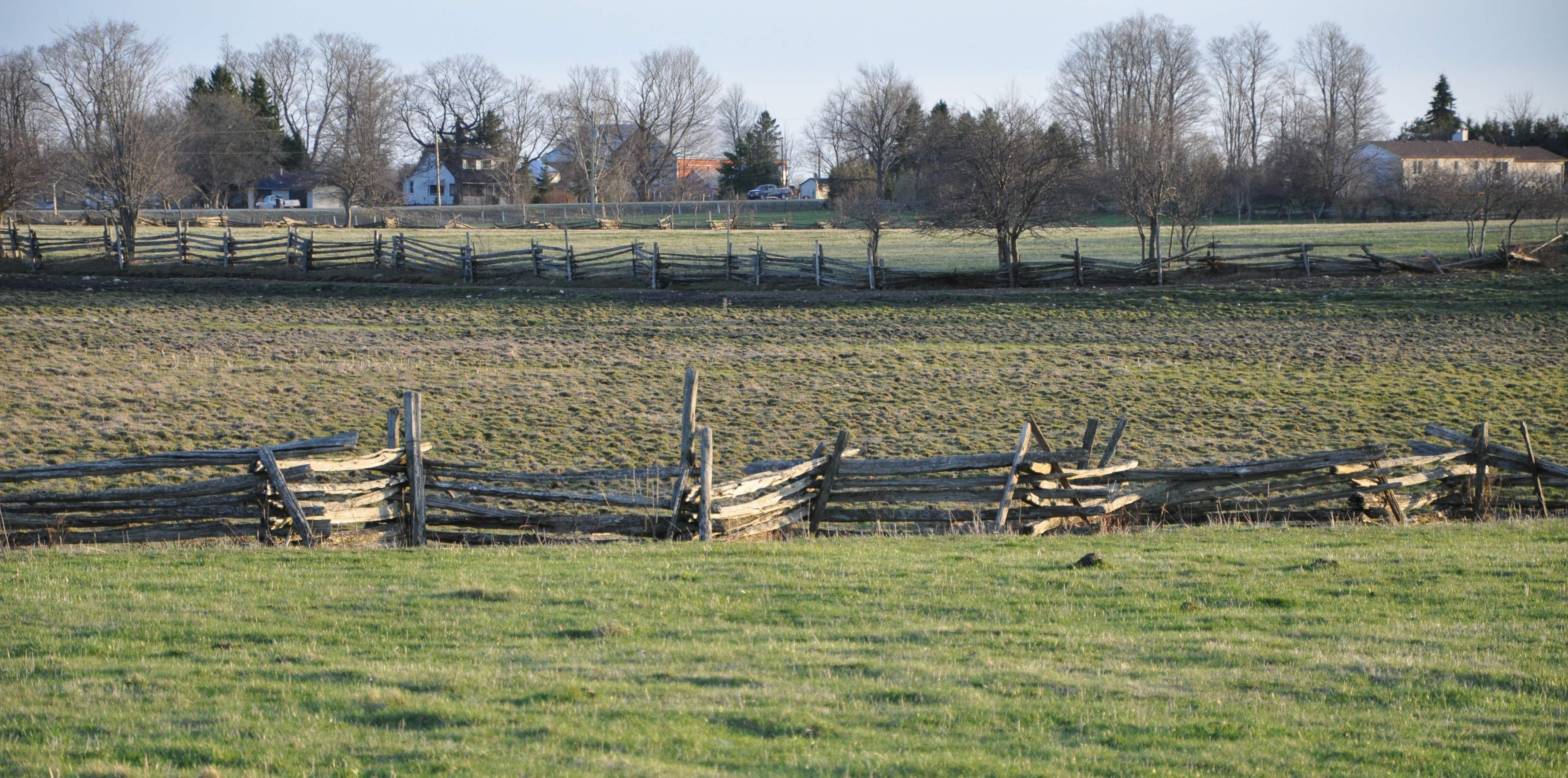 how to build a snake rail fence