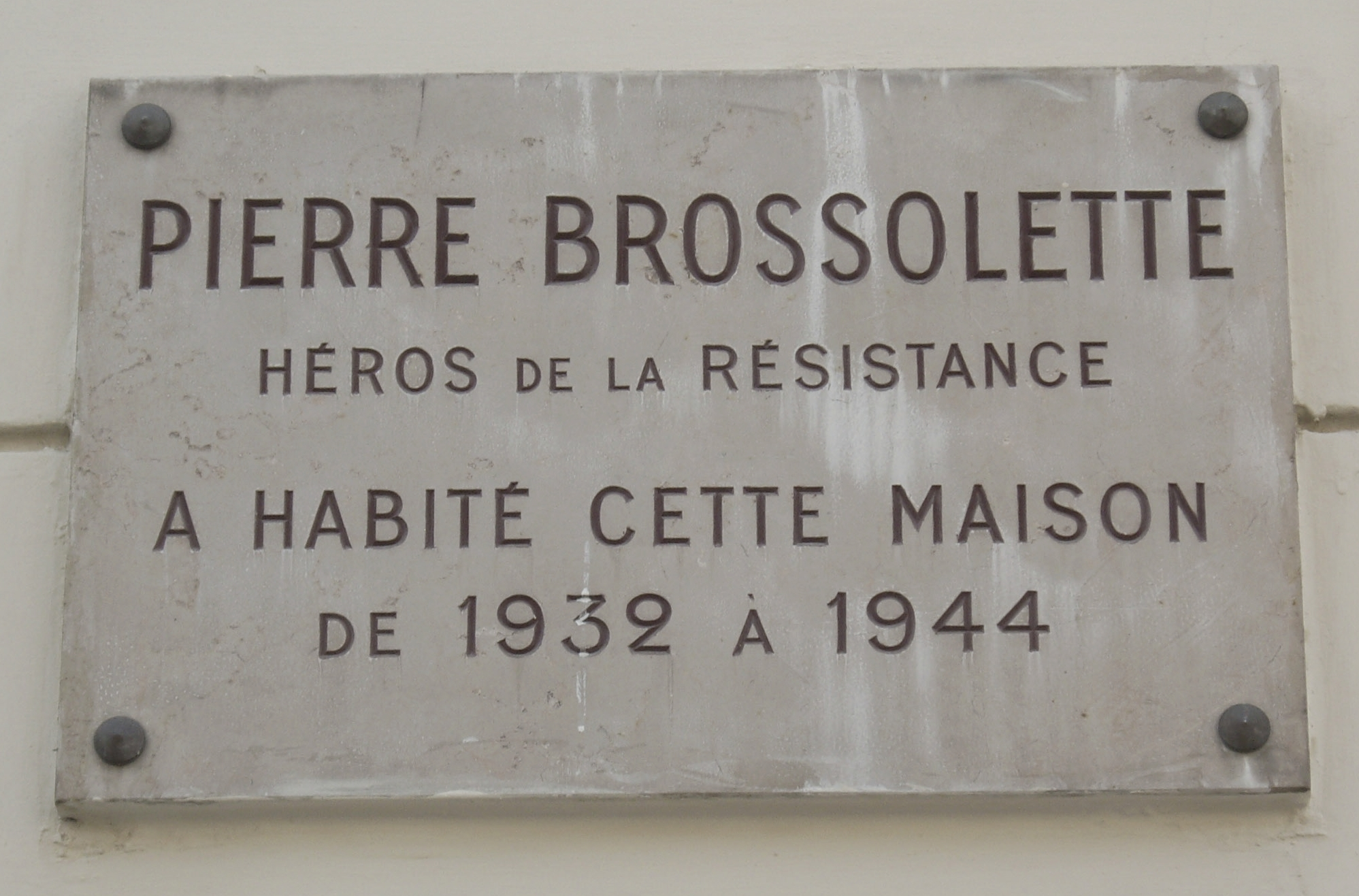 fichier plaque pierre brossolette 123 rue de grenelle. Black Bedroom Furniture Sets. Home Design Ideas