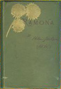 Cover to 1893 edition of Ramona by Helen Hunt ...