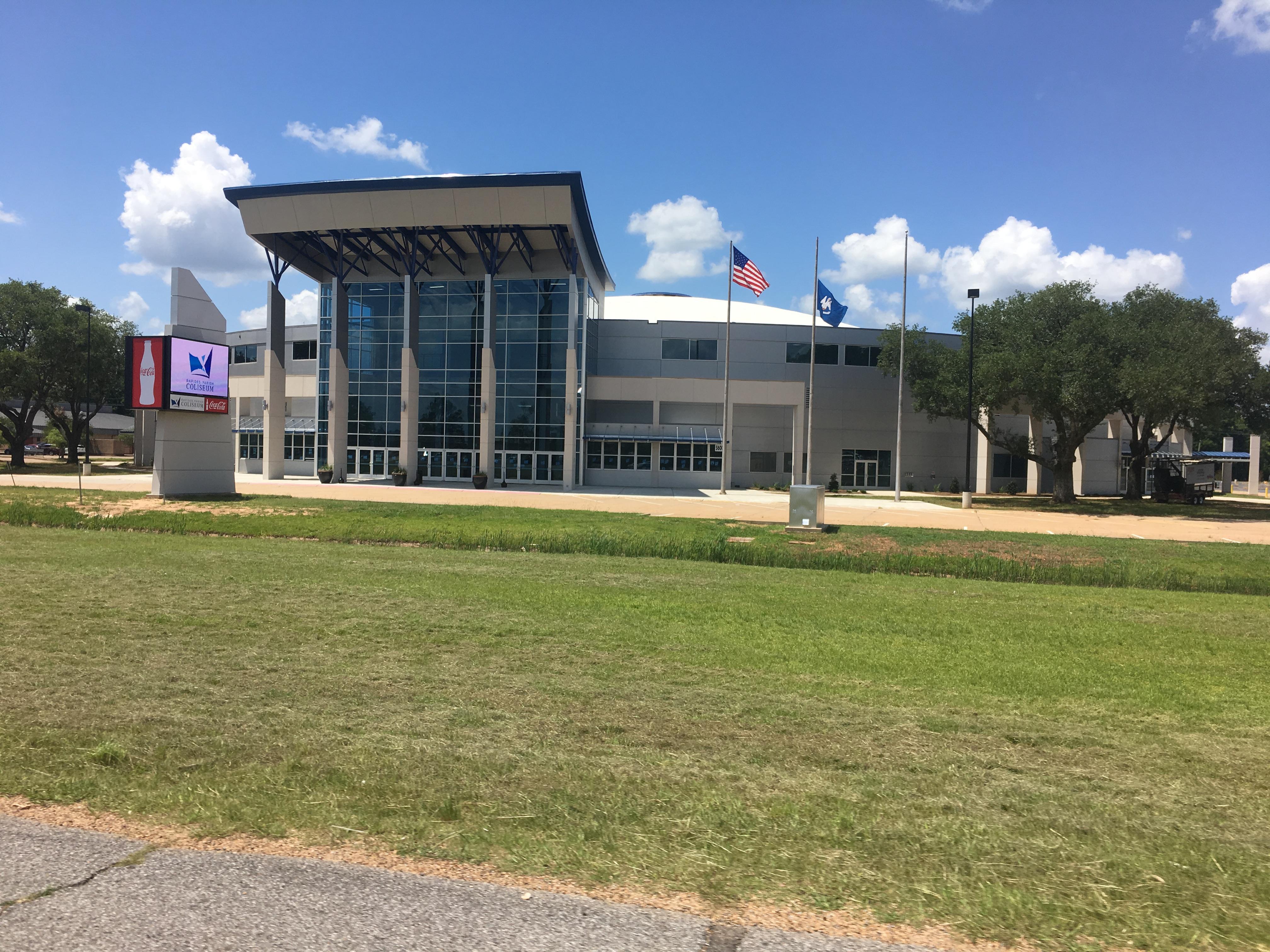 Rapides Parish Coliseum Wikipedia