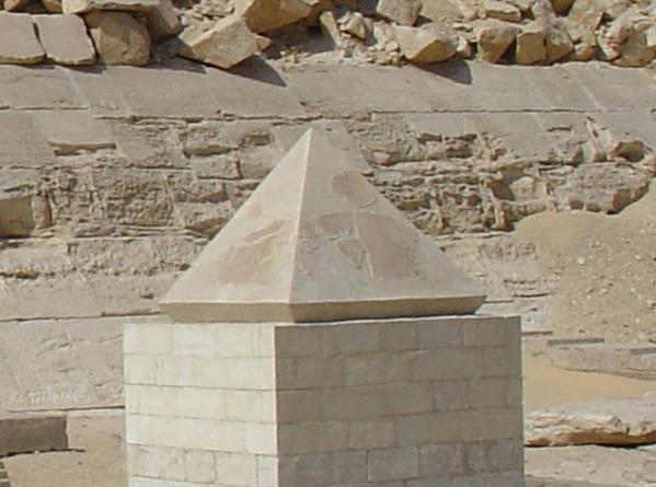 Benben Red_Pyramid_Pyramidion