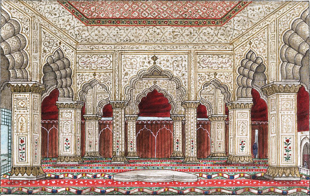 File reminiscences of imperial delhi the interior of the for Diwan e khas agra fort