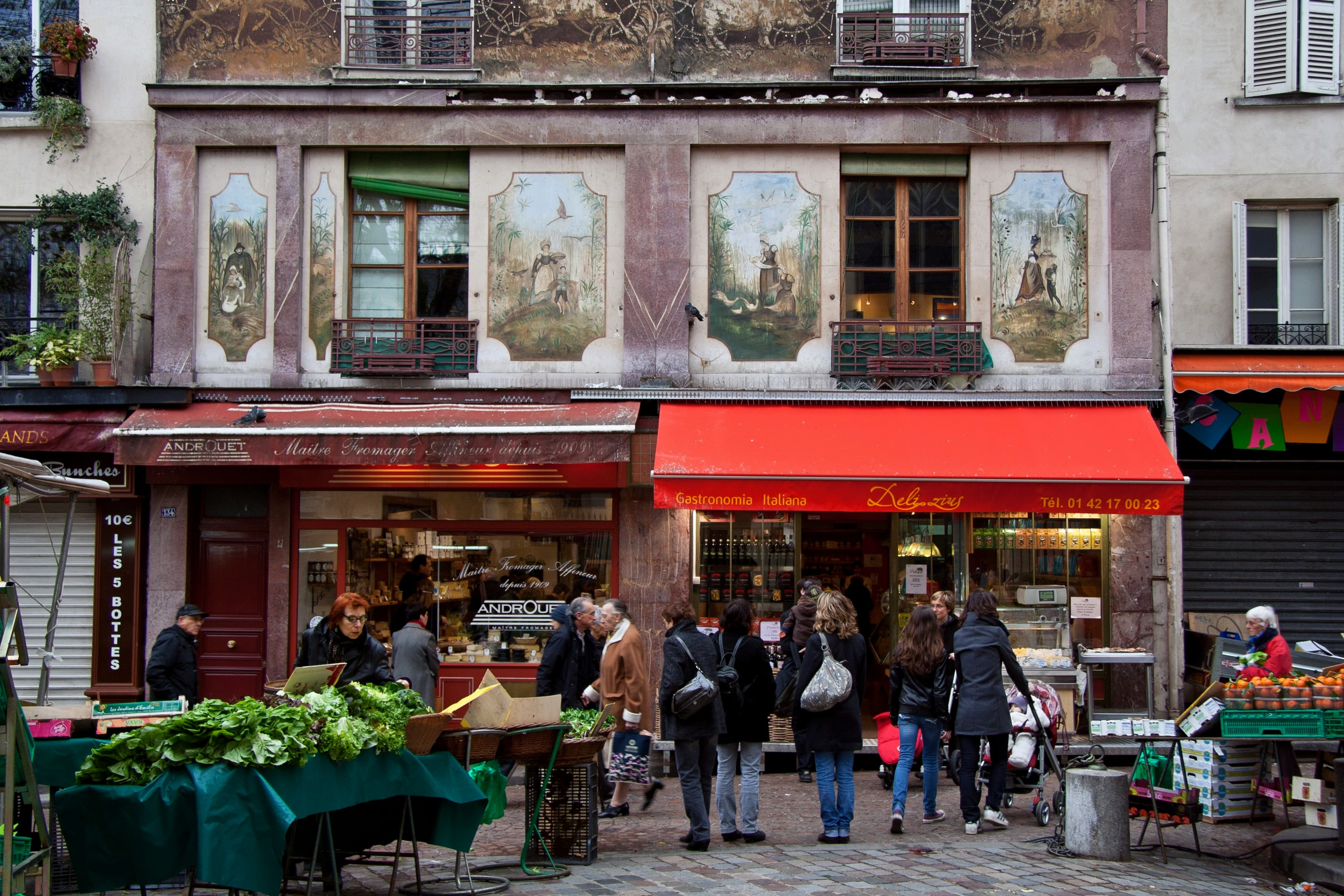 File rue mouffetard fa ade original des wikimedia commons - Magasins orientaux paris ...