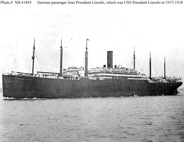 Uss President Lincoln 1907 Wikipedia