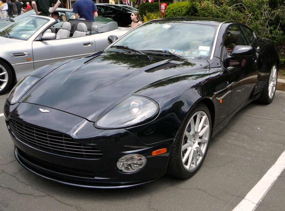 FileSC Aston Martin Vanquish Blackjpg Wikimedia Commons - Black aston martin vanquish