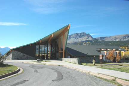 City Of Kalispell >> Saint Mary Visitor Center, Entrance Station and Checking Stations - Wikipedia