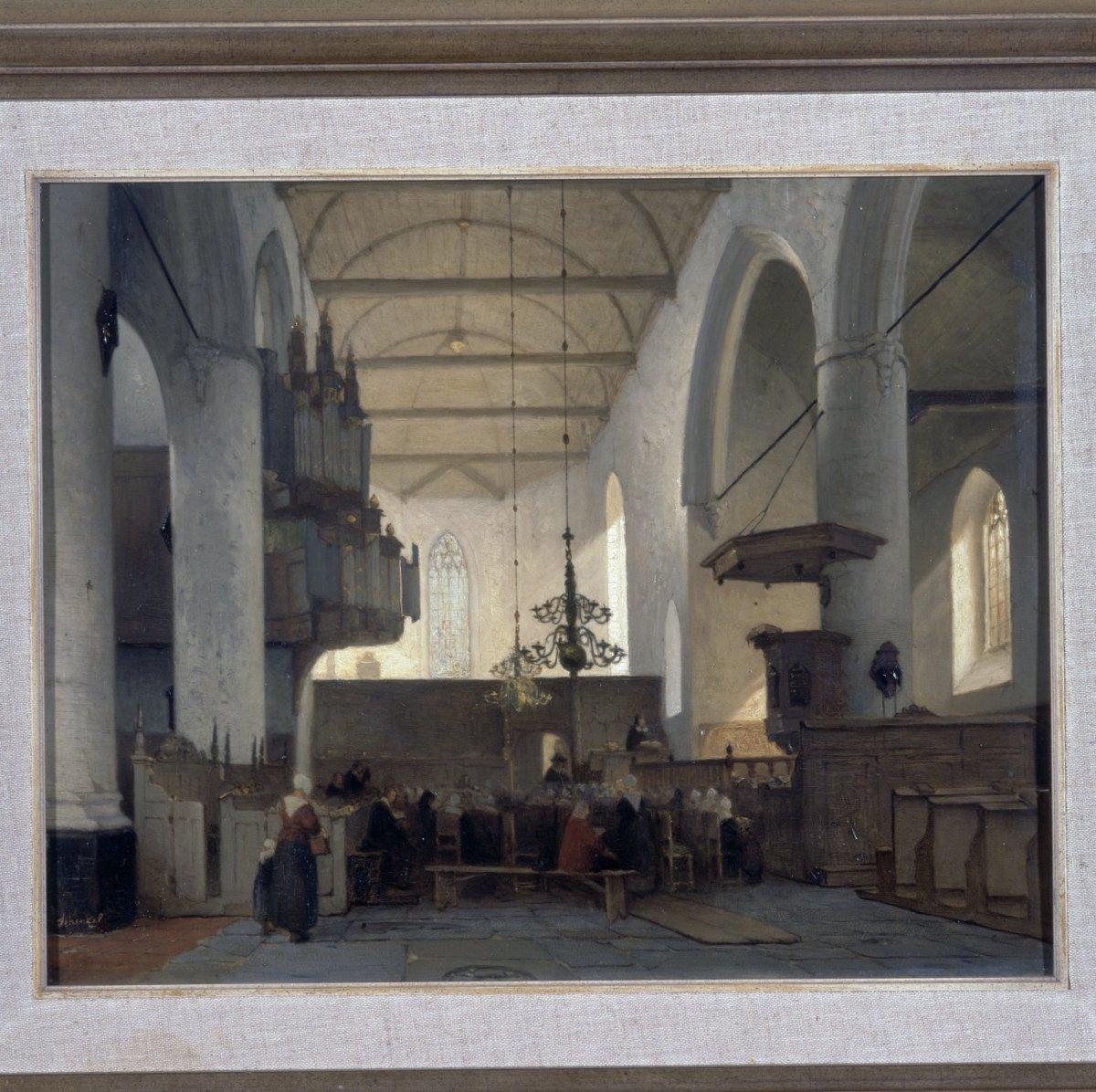 Datei:Schilderij, interieur met orgel - Bolsward - 20358190 - RCE ...