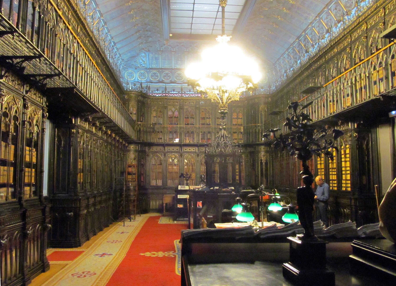 Biblioteca de Palacio en Madrid.