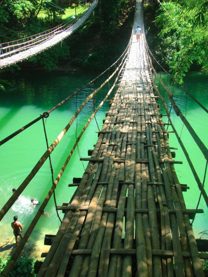 Sevilla_hanging_bridge%2C_Bohol - Sevilla hanging bridge - Philippine Photo Gallery