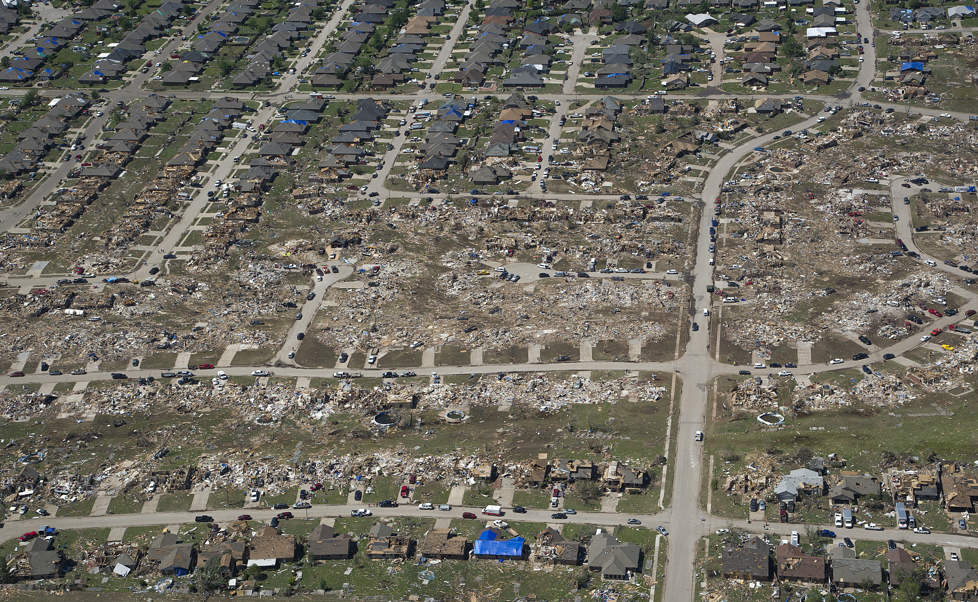 File Shown Here May 22 2013 Is An Aerial View Of Homes