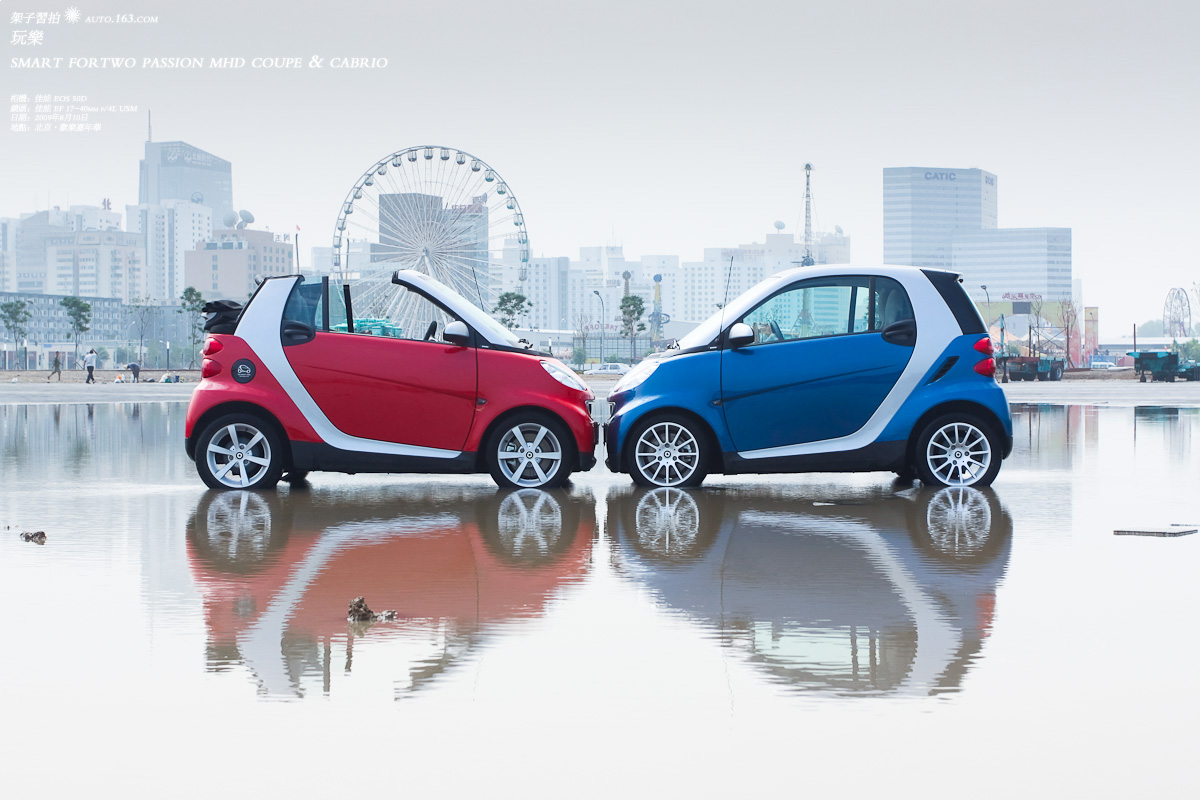 Smart Fortwo Mhd Cabrio Left Coupe Right