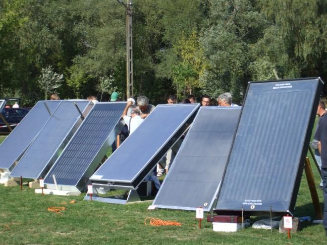 Solar collectors (Solti sorkollektor verseny)