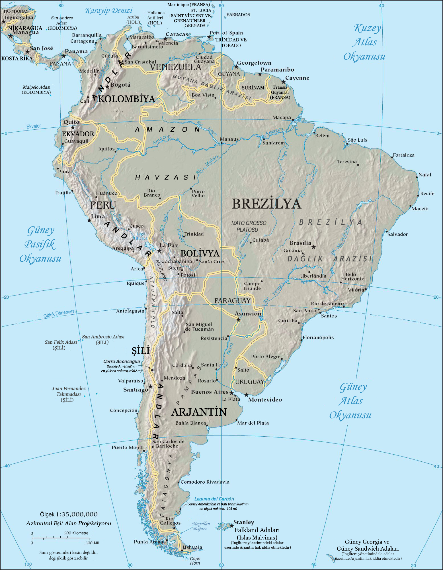 Latin America Map Song.Bibliography Of South America Wikipedia