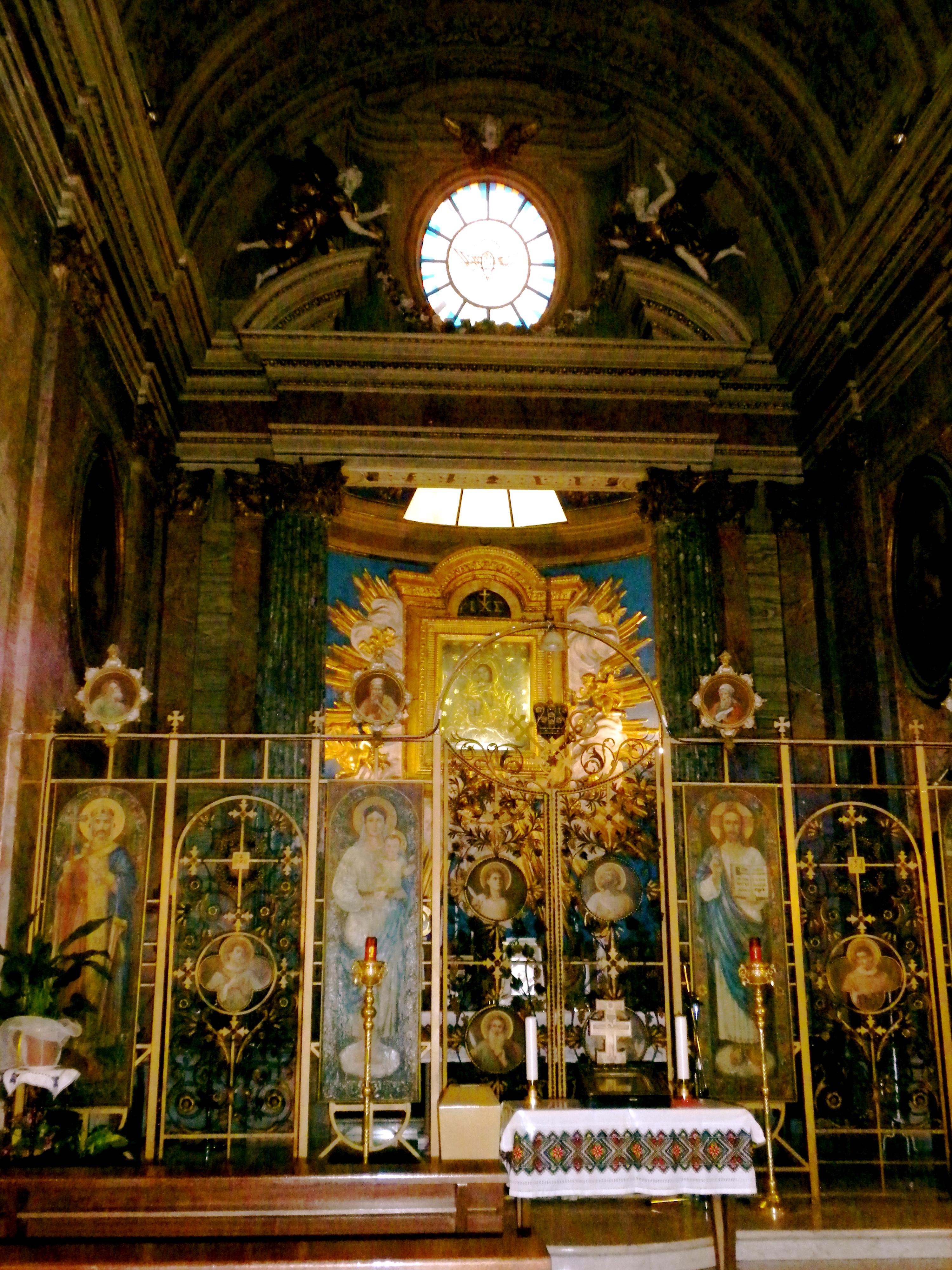Risultati immagini per parrocchia dei Santi Sergio e Bacco in Roma.