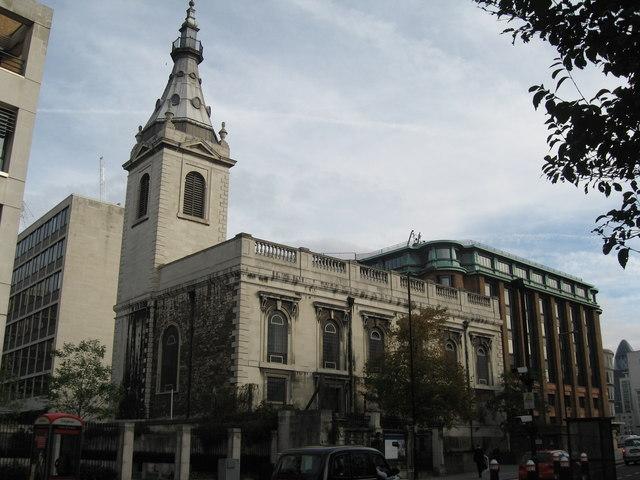 File:St Nicholas Cole Abbey Church, London - geograph.org.uk - 1529520.jpg