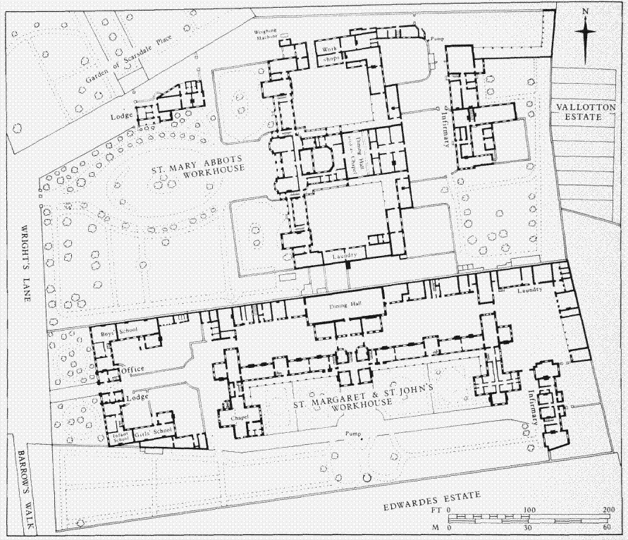 File St mary abbots workhouse plan on view ordinance