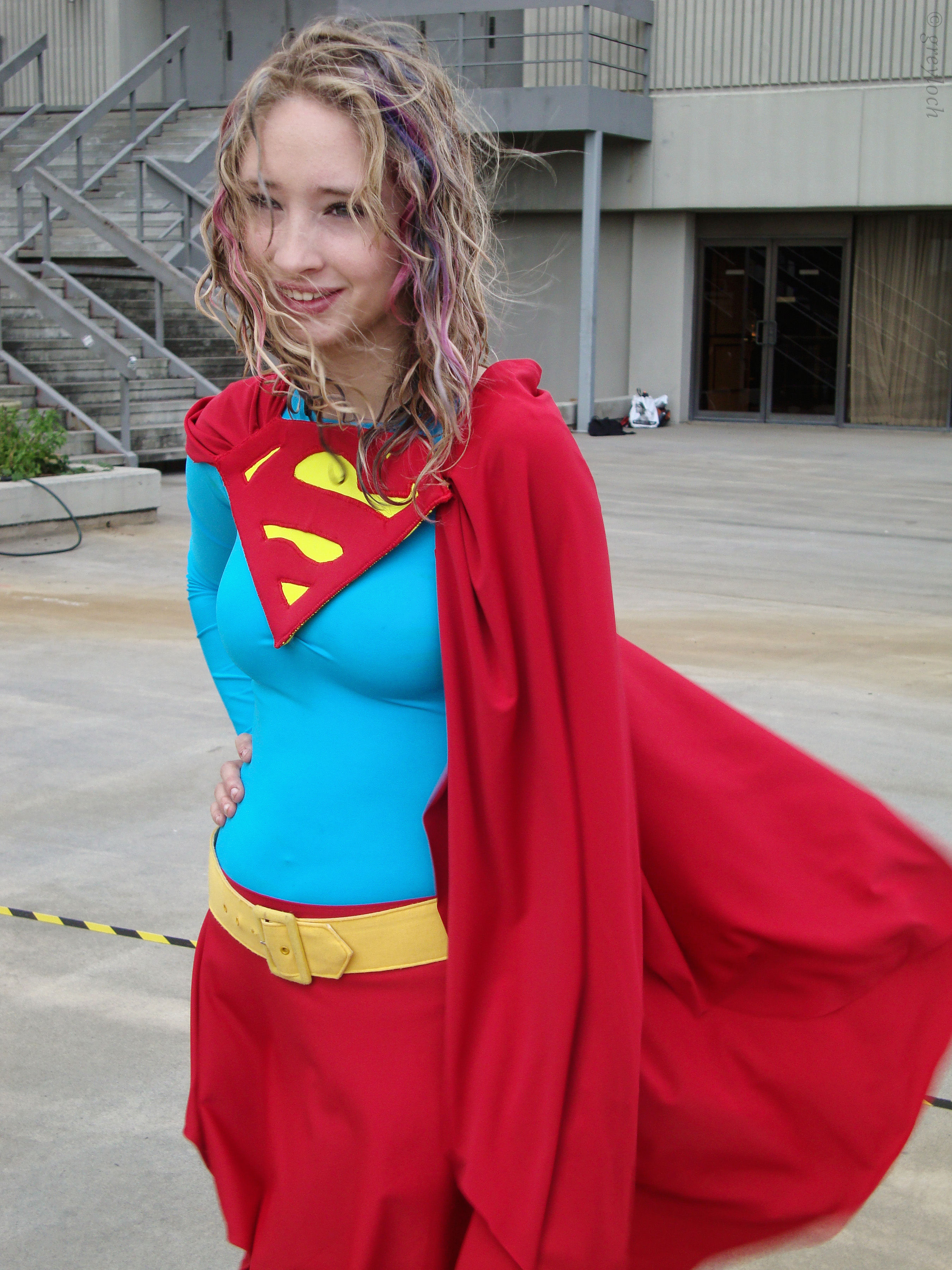 Supergirl Hair