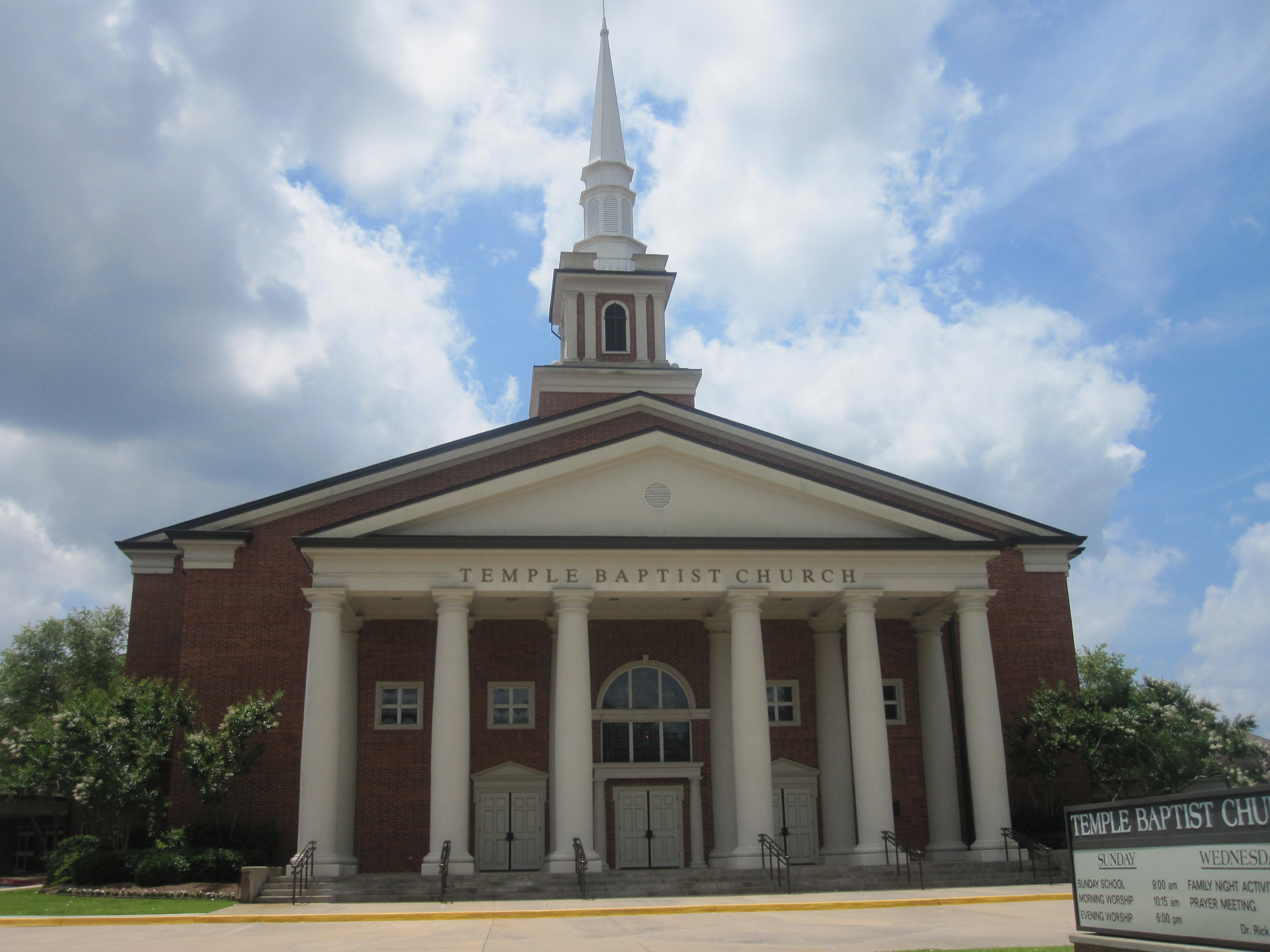 File Temple Baptist Church Ruston La Img 3754 Jpg