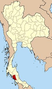トラン県の位置