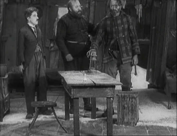 Charlie Chaplin, The Gold Rush, 1925