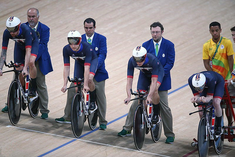 57e161c9c Cycling at the 2016 Summer Olympics – Men s team pursuit - Wikipedia