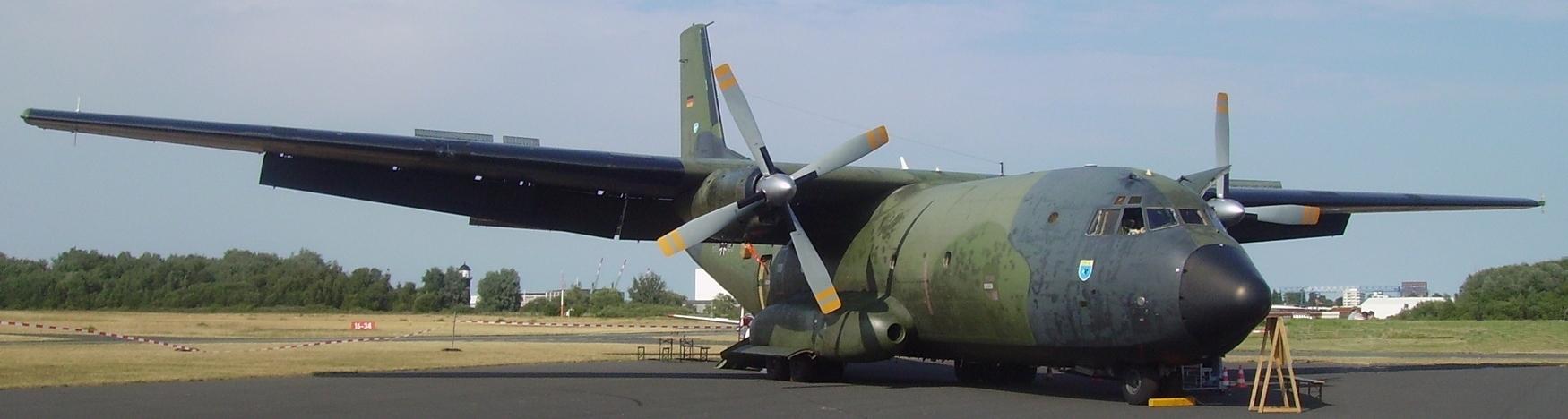 Transall-Maschine der Bundeswehr