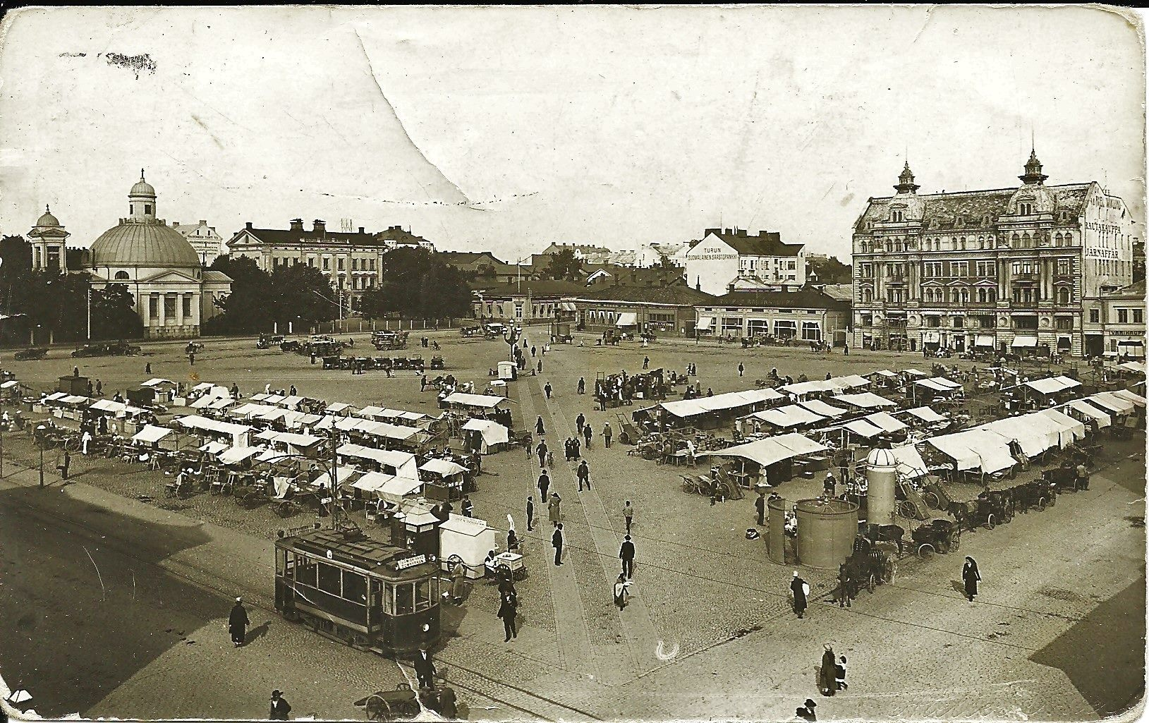 Turun Kauppatori, Market Place