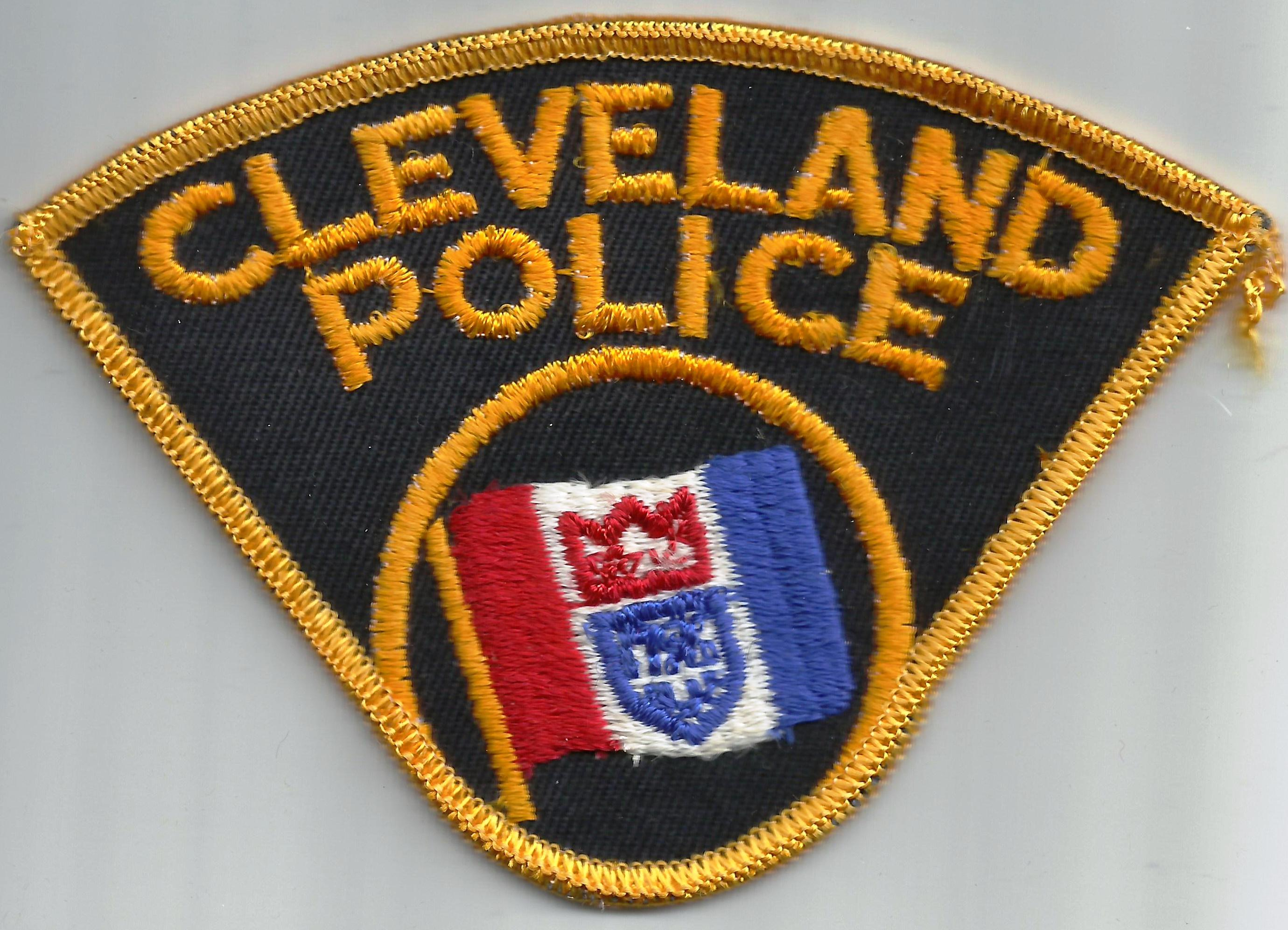 Image result for CLEVELAND POLICE PATCH