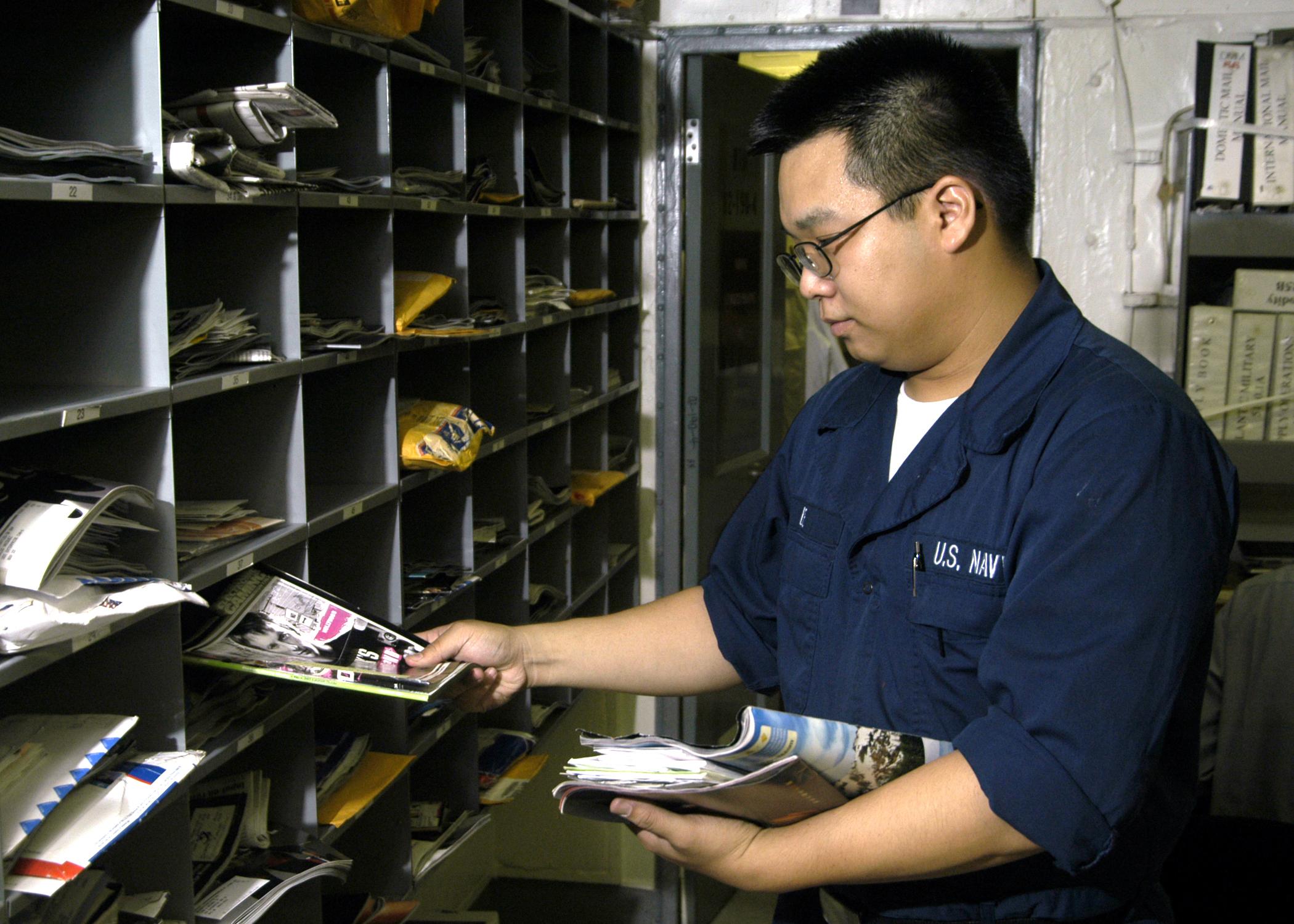 mail clerk info us