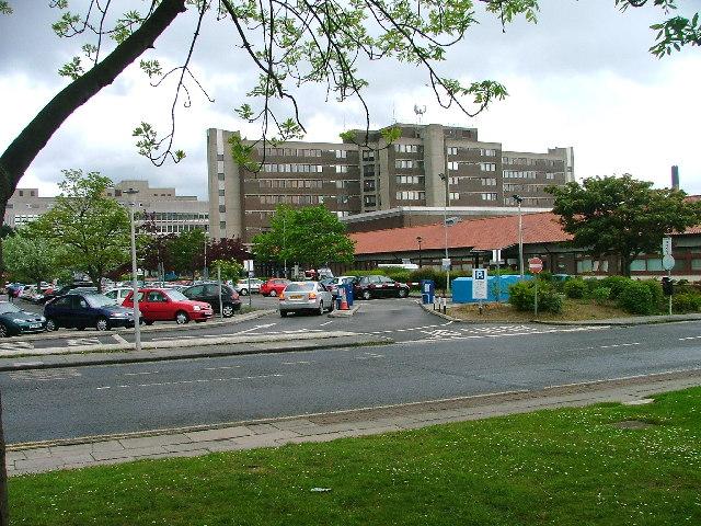 North Tees Hospital Map University Hospital of North Tees   Wikipedia