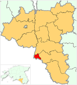 Location of Valga