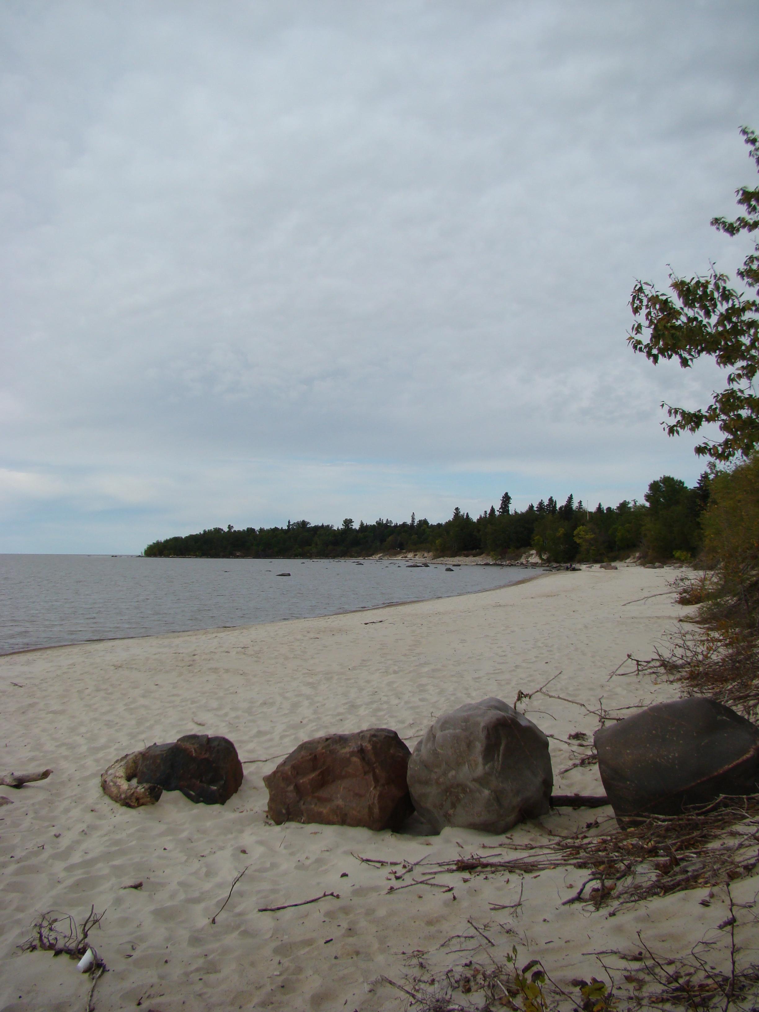 File Victoria Beach In Lake Winnipeg Manitoba Canada 7 Jpg