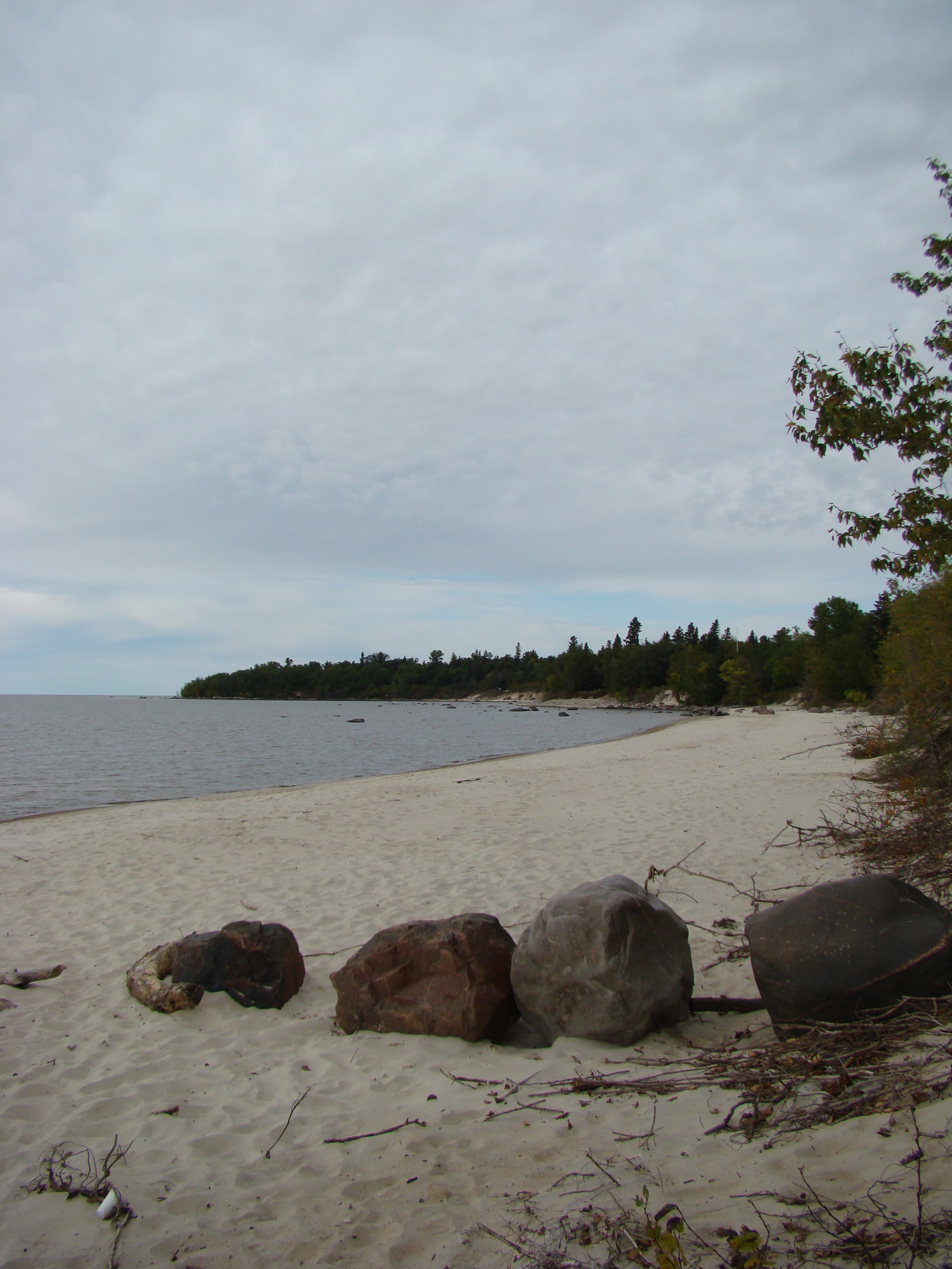 Winnipeg (MB) Canada  City new picture : Description Victoria Beach in Lake Winnipeg Manitoba Canada 7