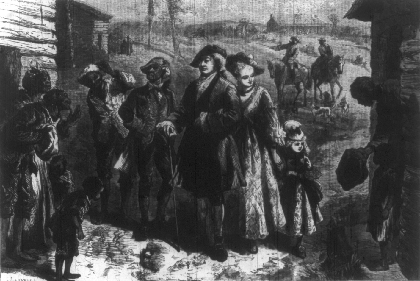 the treatment of slaves in the 17th and 18th centuries The control and treatment of slaves slavery and the law in the eighteenth century about 90 per cent of all slaves worked only the invalids, very young.