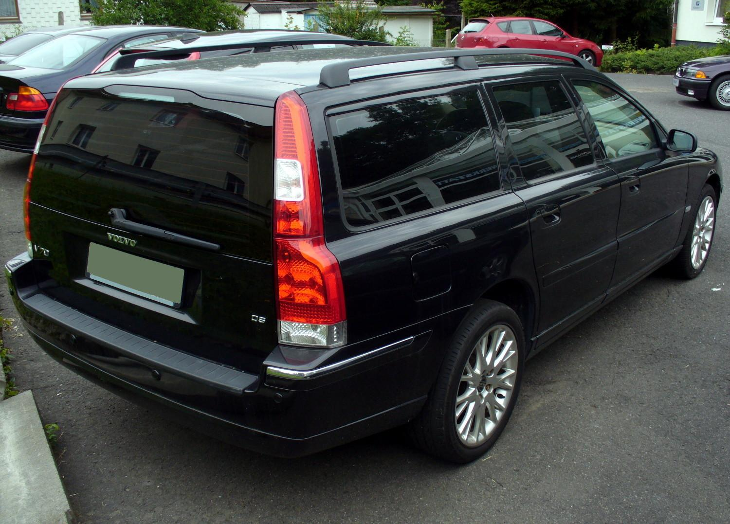 file volvo v70 d5 summum facelift heck jpg wikimedia commons. Black Bedroom Furniture Sets. Home Design Ideas