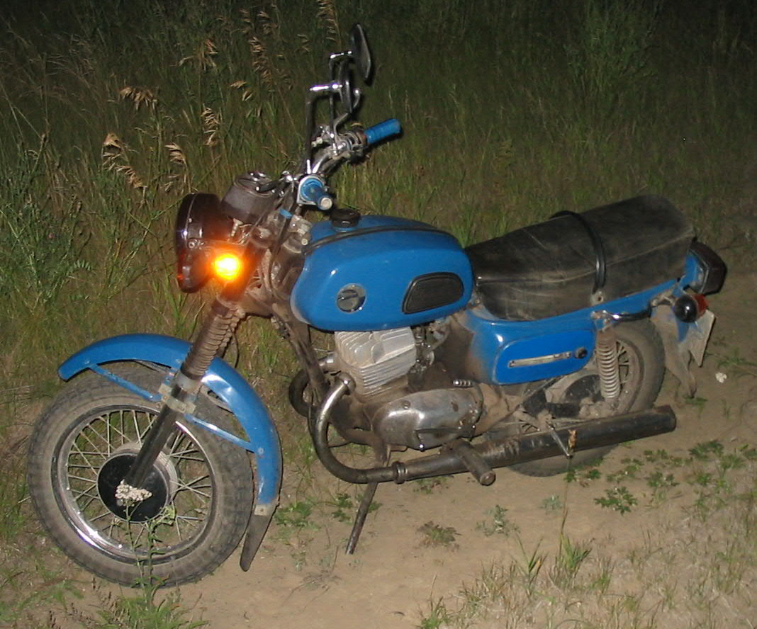 Voskhod M on Motorcycle 125cc Scooter
