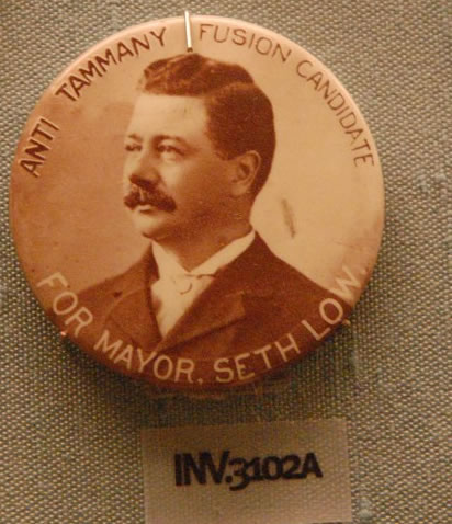 File:WLA nyhistorical Seth Low campaign button.jpg