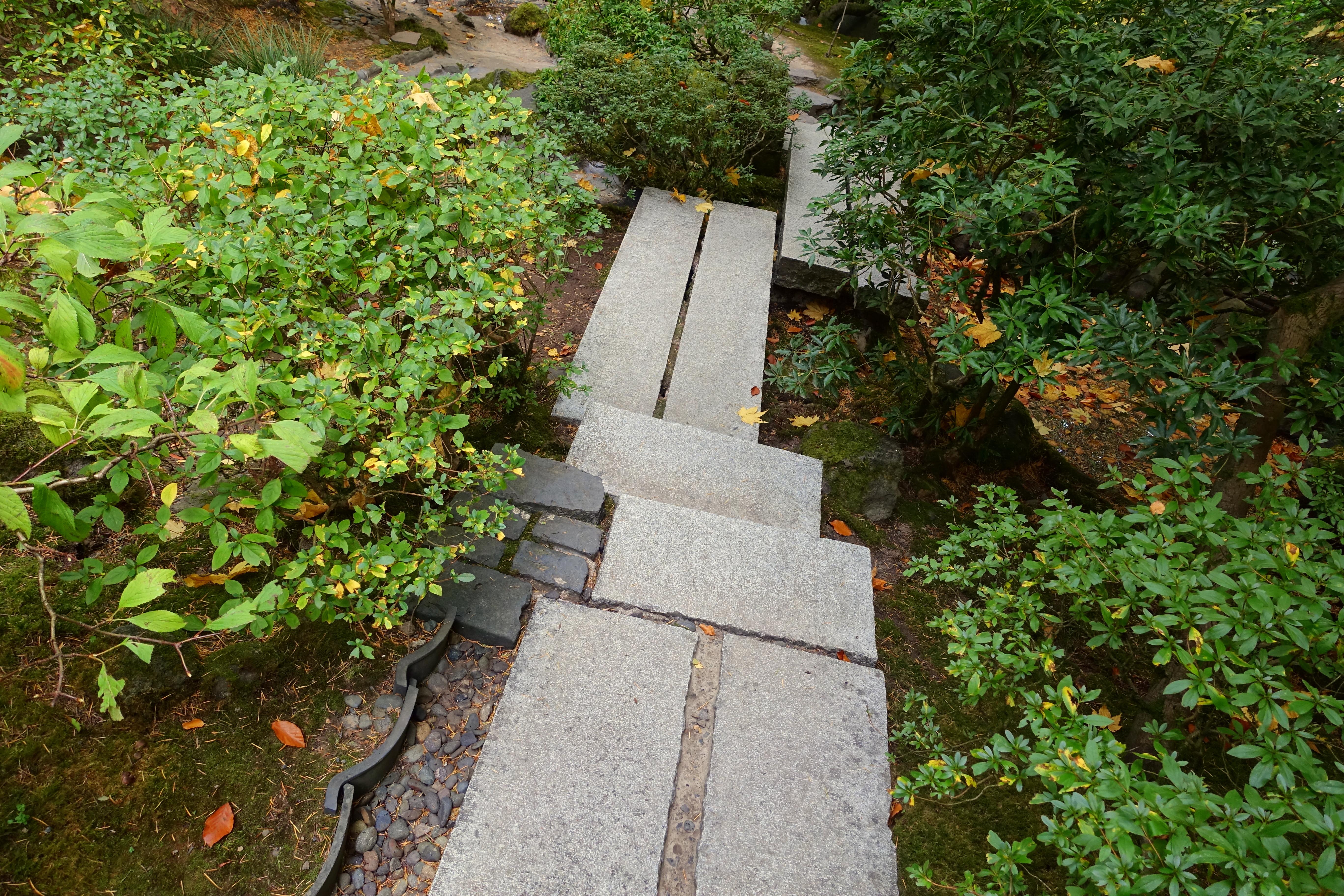 File Walkway Portland Japanese Garden Portland Oregon