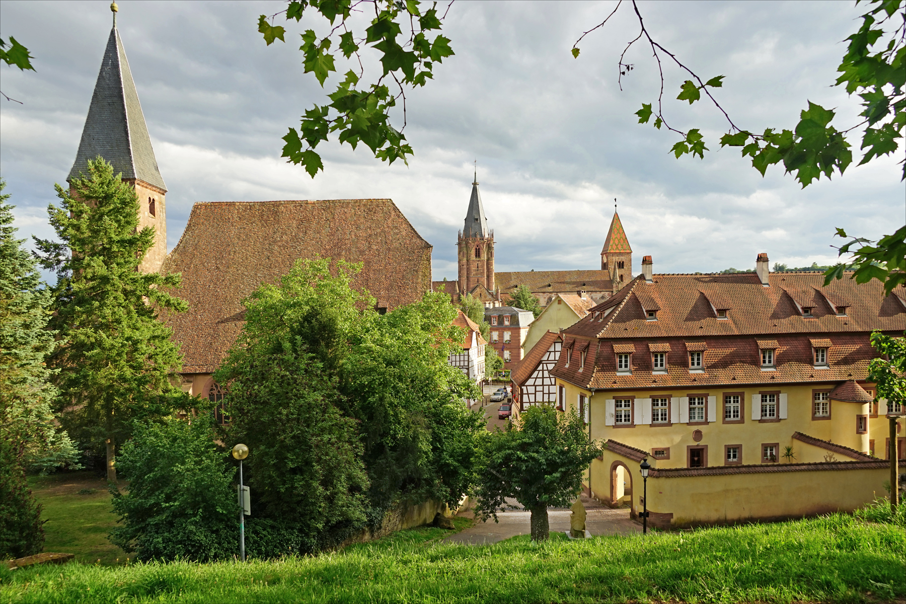 A general view of Wissembourg
