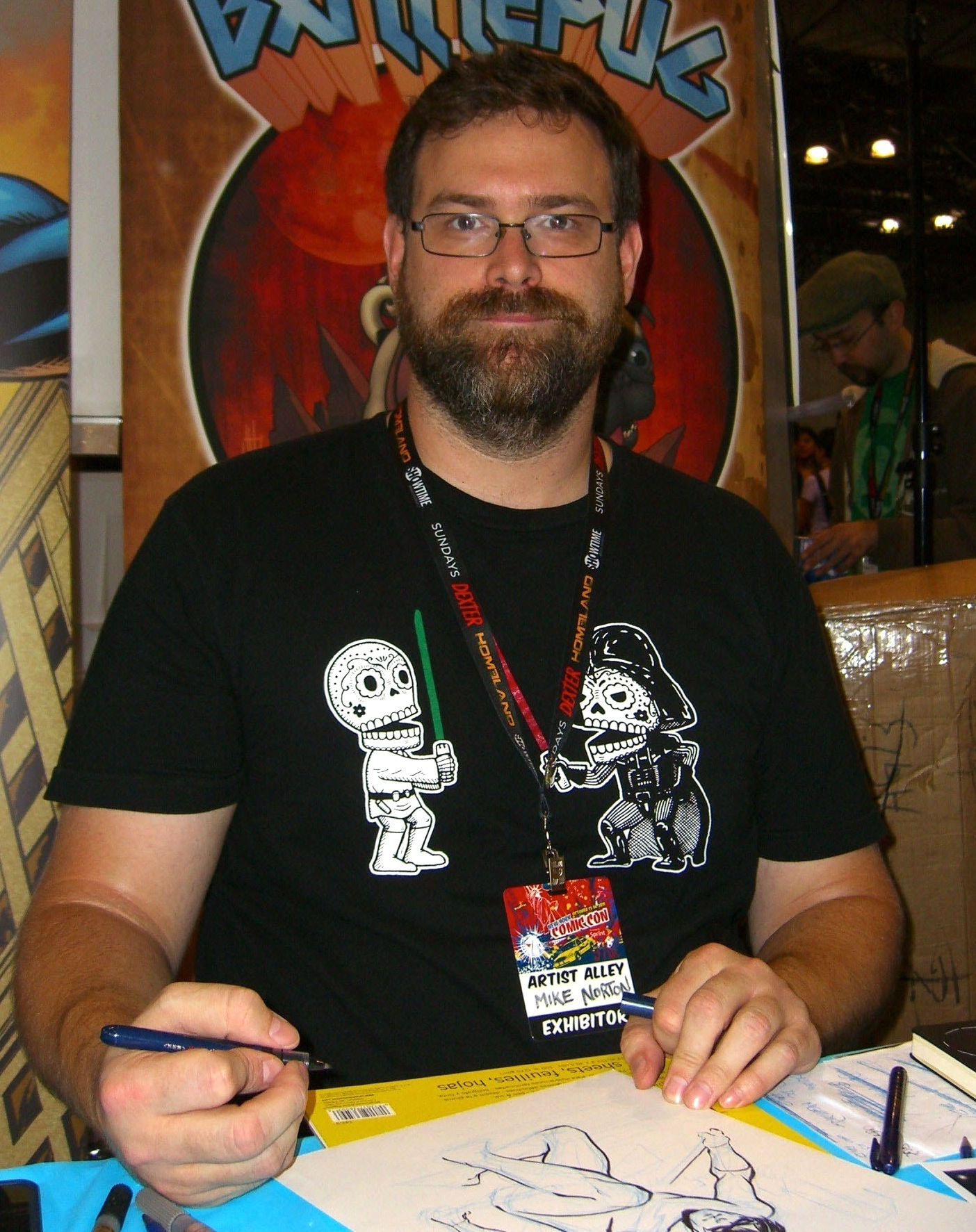 Norton at the 2011 [[New York Comic Con]].