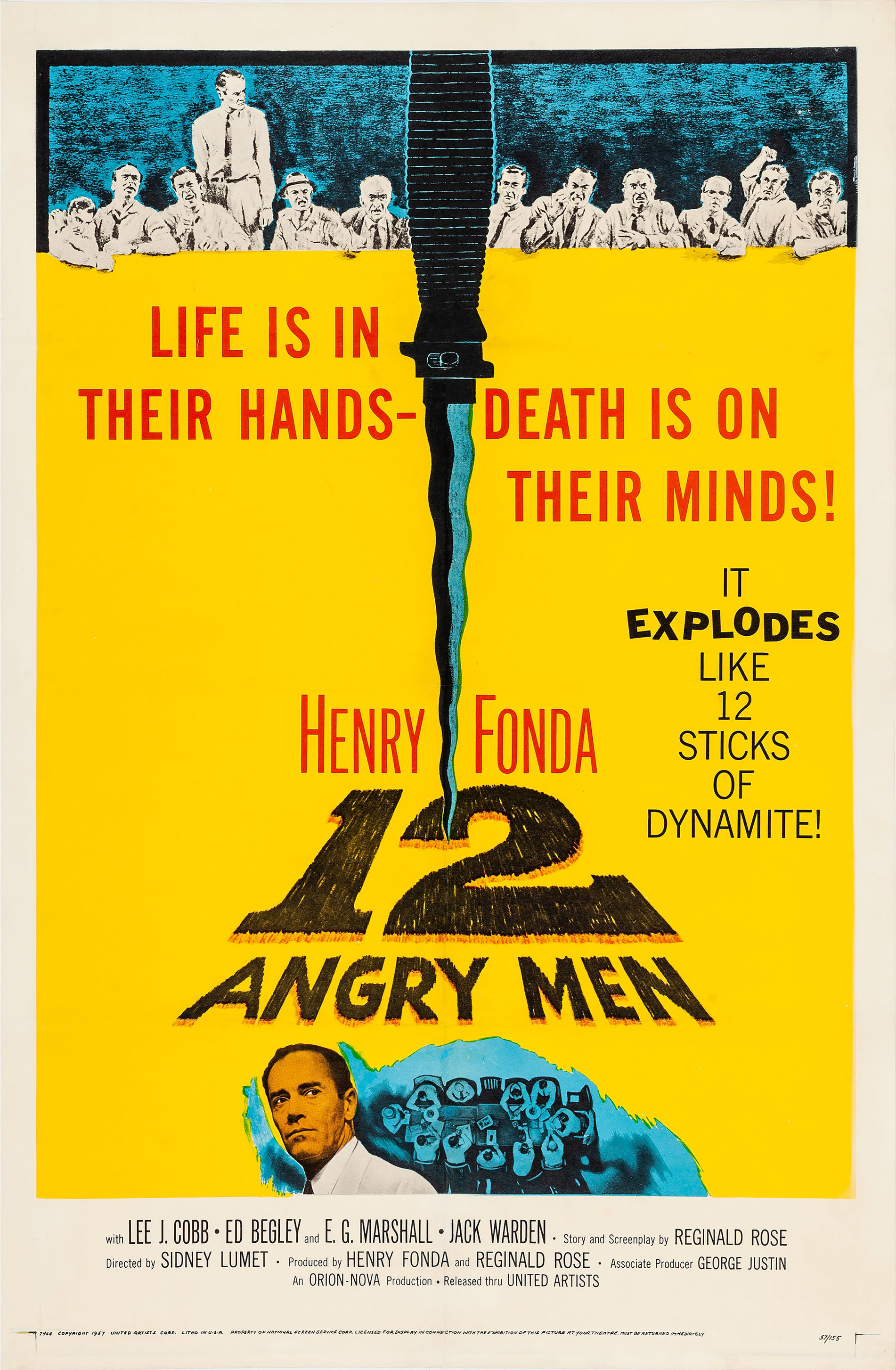 Image result for 12 angry men movie poster