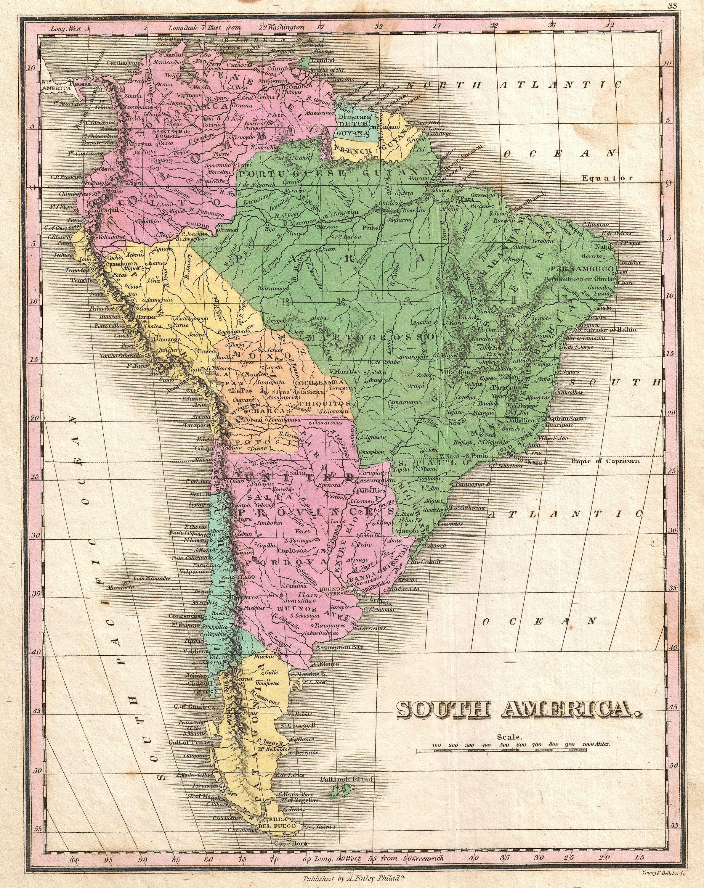 File:1827 Finley Map of South America - Geographicus ... on sw asia map games, southwest asia map games, south america test, middle east map games, south america international airports, south american countries games, western united states map games, the united states map games, europe map games, mid east map games, social studies map games, south east asian games, south america home, ukraine map games, south america google earth, south america united states, south america timelines, south america board games, northern eurasia map games, south america enchanted learning,